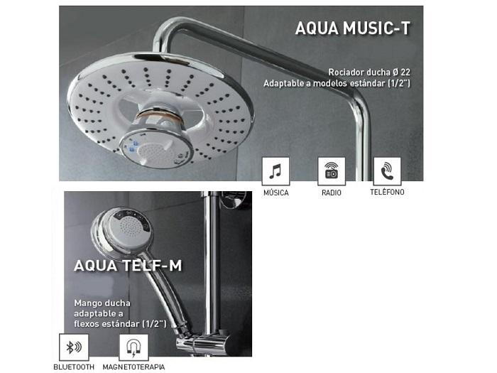 Grifería Aqua Music