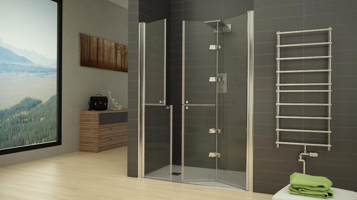 Mampara ducha para discapacitados